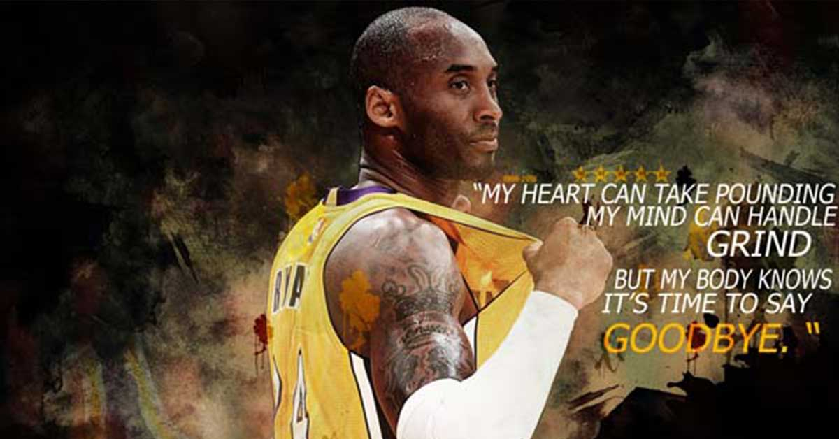 Kobe Bryant on mixing blood with business